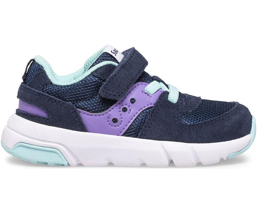 Jazz Lite 2.0 Sneaker, Navy | Purple | Turq, dynamic