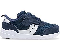 Jazz Riff Sneaker, Navy | White, dynamic