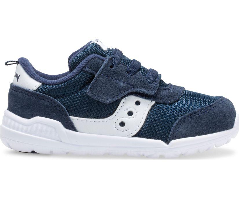 Jazz Riff Sneaker, Navy | White, dynamic