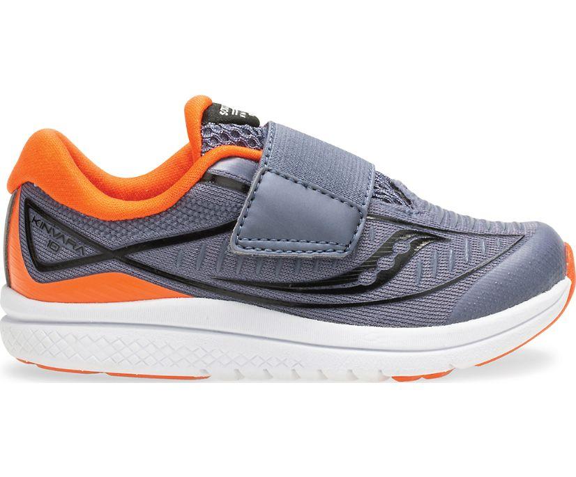 Kinvara 10 Jr. Sneaker, Grey   Orange, dynamic