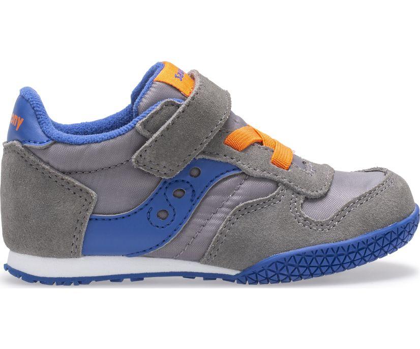 Bullet Jr. Sneaker, Grey | Blue | Orange, dynamic