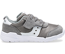 Jazz Riff Sneaker, Grey | White, dynamic