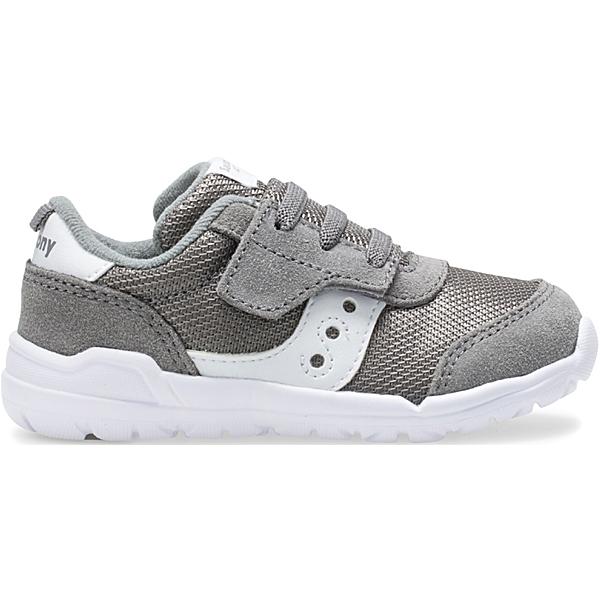 Jazz Riff Sneaker, Grey   White, dynamic