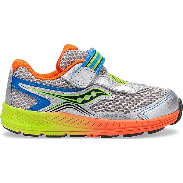 Ride 10 Jr. Sneaker, Silver | Orange | Green, dynamic