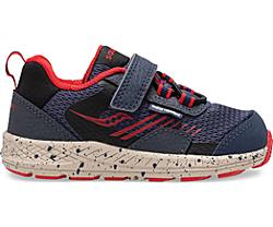 Wind Shield A/C Jr. Sneaker, Navy | Red, dynamic