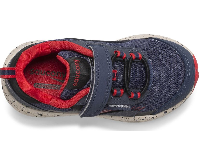 Wind Shield A/C Jr. Sneaker, Navy | Red, dynamic