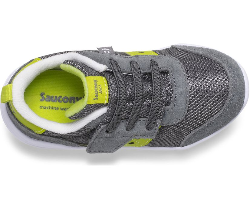 Jazz Riff Sneaker, Grey | Citron, dynamic