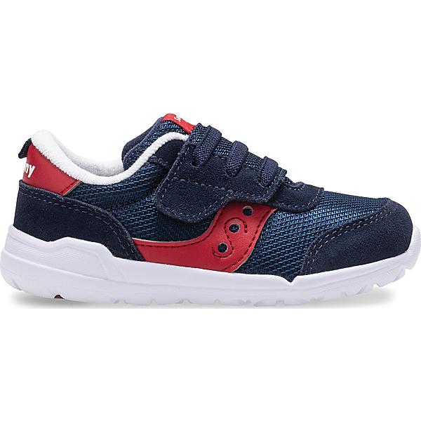 Jazz Riff Sneaker, Navy   Red, dynamic