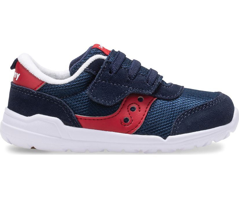 Jazz Riff Sneaker, Navy | Red, dynamic
