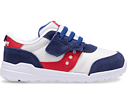 Jazz Riff Sneaker, Red | White | Blue, dynamic