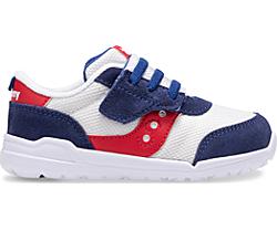 Jazz Riff Sneaker, Red | White | Blue, dynamic