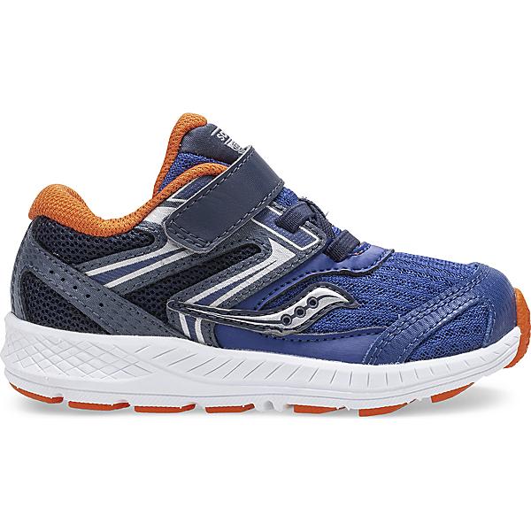 Cohesion 13 Jr. Sneaker, Navy | Orange, dynamic