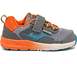 Wind Shield A/C Jr. Sneaker, Grey | Orange | Blue, dynamic