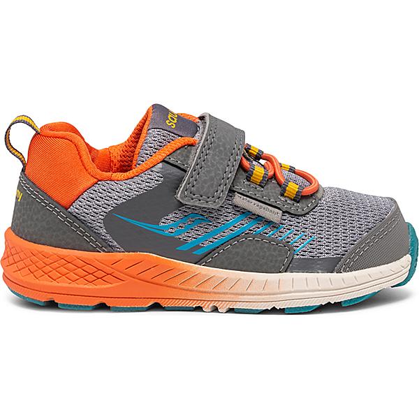 Wind Shield A/C Jr. Sneaker, Grey | Orange | Blue, dynamic