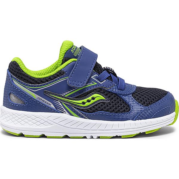 Cohesion 14 A/C Jr. Sneaker, Blue   Green, dynamic