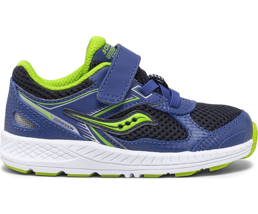 Cohesion 14 A/C Jr. Sneaker, Blue | Green, dynamic