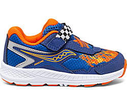 Ride 10 Jr. Sneaker, Blue | Flame, dynamic