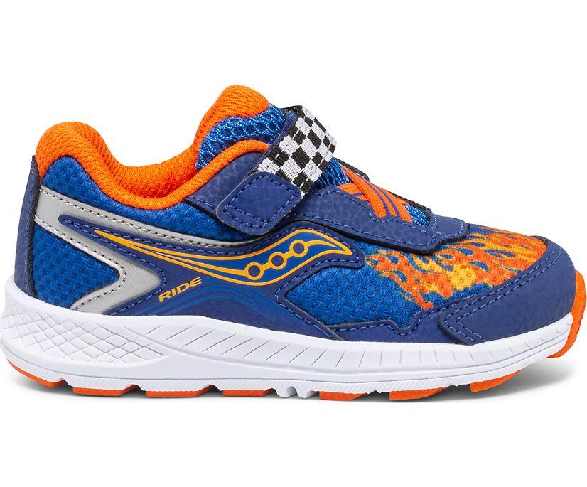 Ride 10 Jr. Sneaker, Blue | Flame, dynamic