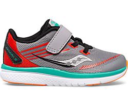 Kinvara 12 Jr. Sneaker, Grey | Orange, dynamic