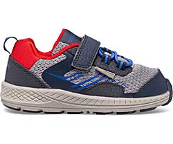 Wind Shield A/C Jr. Sneaker, Navy | Grey | Red, dynamic