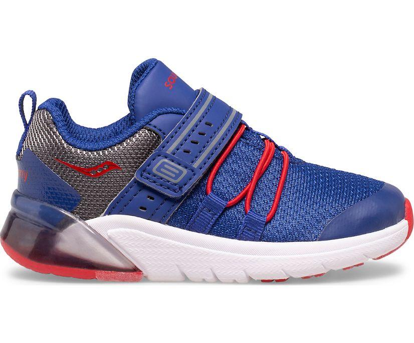 Flash Glow 2.0 Jr. Sneaker, Navy   Red   Grey, dynamic