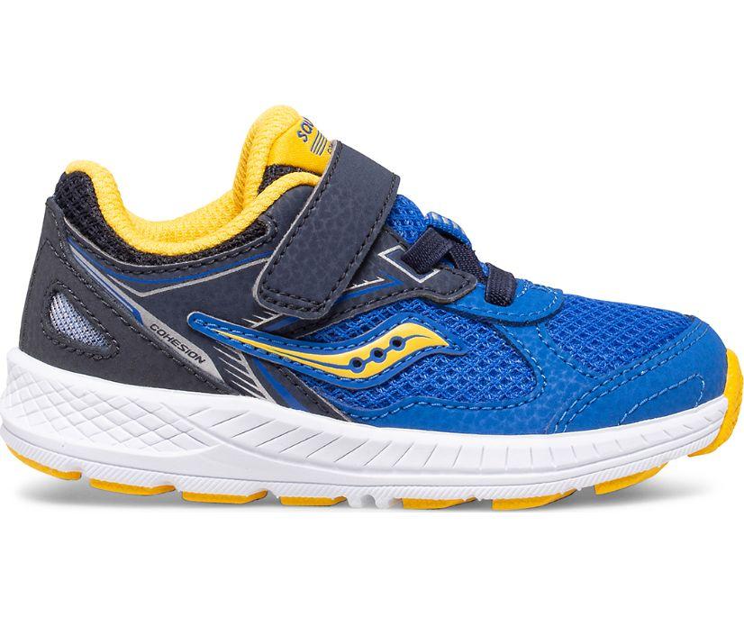 Cohesion 14 A/C Jr. Sneaker, Blue | Yellow, dynamic
