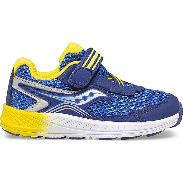 Ride 10 Jr. Sneaker, Blue | Yellow, dynamic