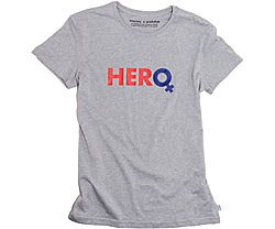 Hero T-Shirt, Light Grey Heather, dynamic