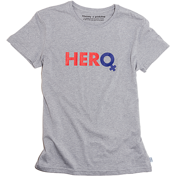 Hero T-Shirt, Light Grey Heather, dynamic