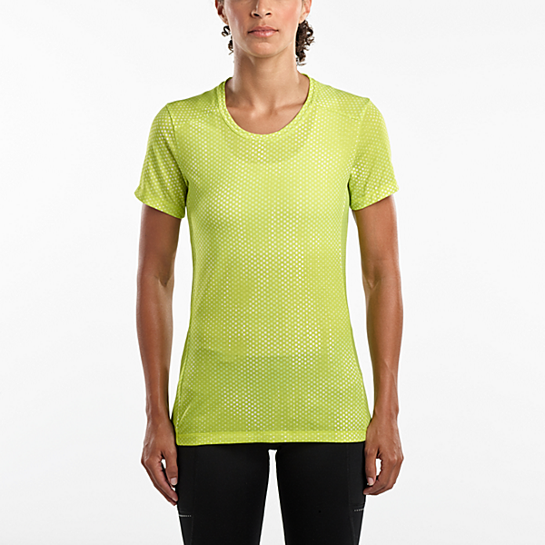 Freedom Short Sleeve, Lime Punch Print, dynamic