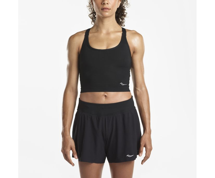 Impulse Crop Top, Black, dynamic