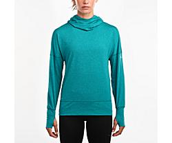 Run Strong Hoodie 2.0, Quetzal Green, dynamic