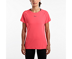 UV Lite Short Sleeve, Hibiscus, dynamic