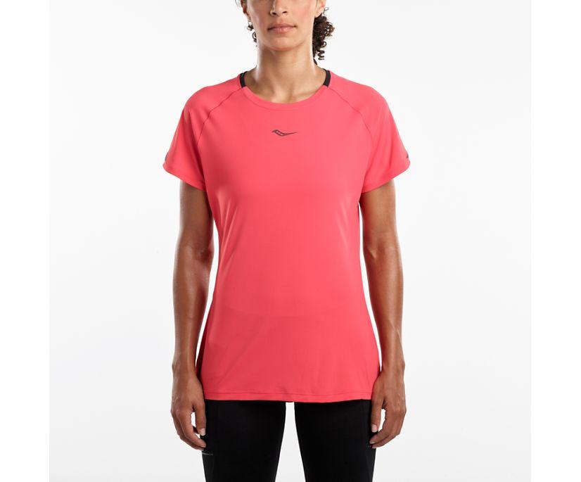UV Lite Short Sleeve, Hibiscus, dynamic