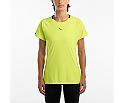 UV Lite Short Sleeve, Lime Punch, dynamic