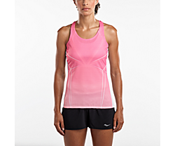 Endorphin Singlet, Salmon Rose | English Rose Print, dynamic