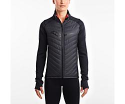 Reversi-Run Jacket, Black | ViZi Red, dynamic