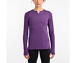 Breakthru Long Sleeve, Violet Indigo, dynamic