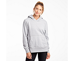 Kickback Hoodie, Light Grey Heather, dynamic