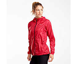 Packaway Jacket, Saucony Red, dynamic