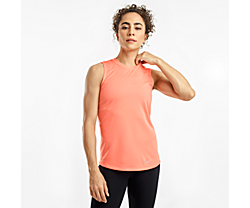Stopwatch Sleeveless, Fusion Coral, dynamic