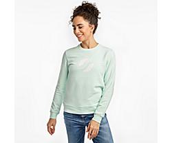 Logowear Sweatshirt, Opal Blue, dynamic