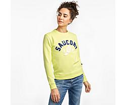 Logowear Sweatshirt, Sunny Lime, dynamic