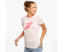 Rested Short Sleeve, Barely Pink, dynamic