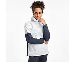 Drizzle 2.0 Jacket, White, dynamic