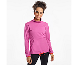 Sunday Pocket Top, Purple Orchid Heather, dynamic