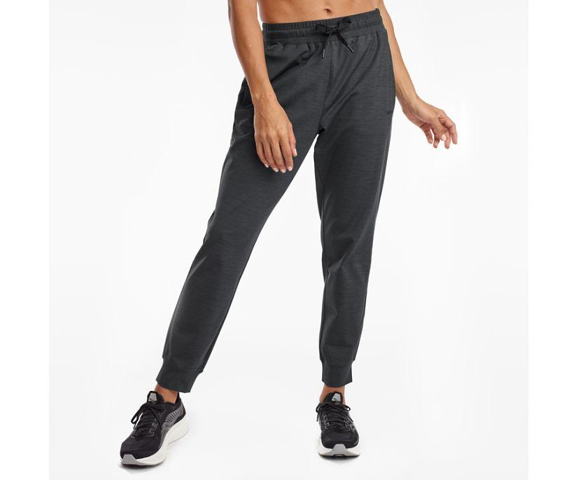 Solstice Jogger Pant, Black Heather, dynamic