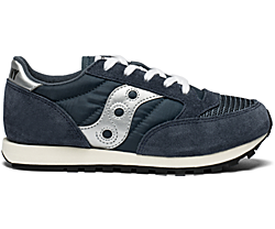 Jazz Original Vintage Sneaker, Navy, dynamic