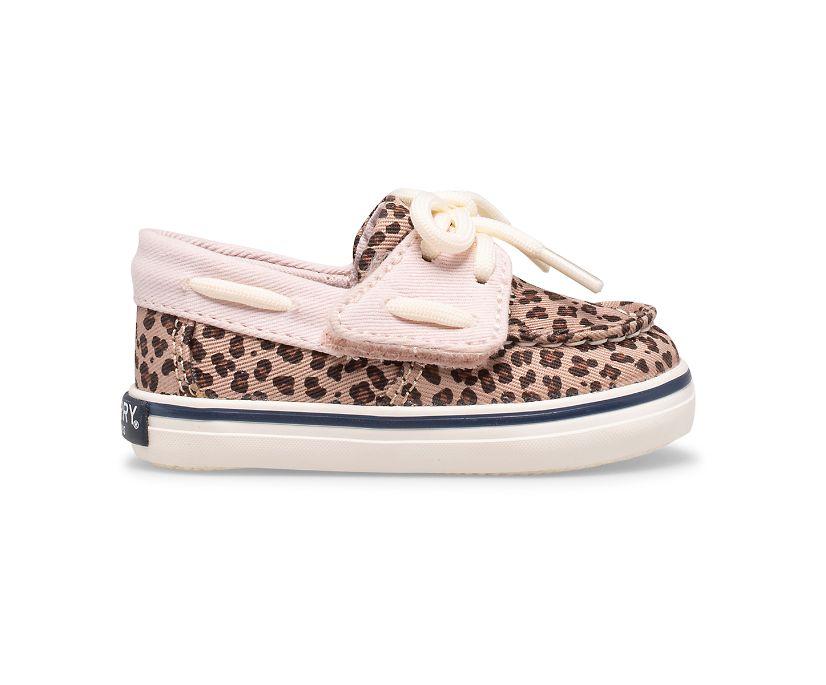 Intrepid Crib Junior Boat Shoe, Leopard, dynamic