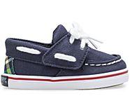 Intrepid Crib Boat Shoe, Navy, dynamic